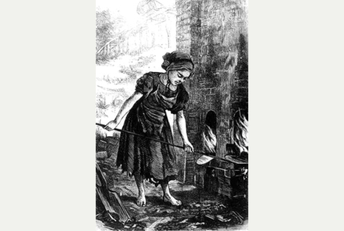 SOUTHALL FEMALES ALWAYS WORKED AND LABOURED FOR THE WHOLE FAMILIES BREAD AND DRIPPING.
