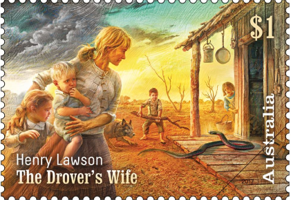 the-drovers-wife-stamp